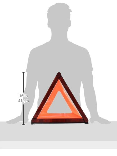 Araign/ée XS Leina 13016 Triangle de signalisation de pannes Euro carquois int/érieur en plastique
