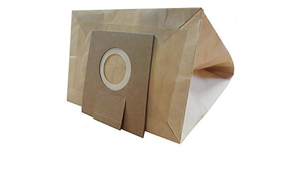 Bolsa para aspiradora Bosch/Siemens tipo D, tipo E, tipo F, tipo G, tipo H, 10 bolsas de papel: Amazon.es: Hogar