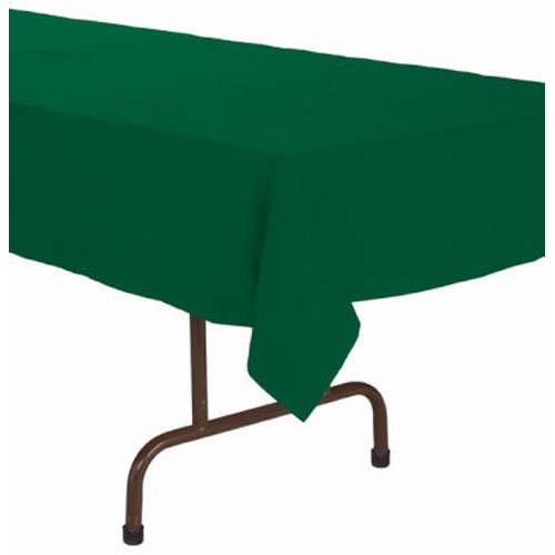 Creative Converting Paper Banquet Table Cover, Hunter Green - ()
