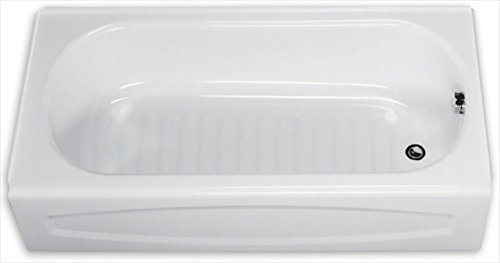 Exceptional American Standard 0255.112.020 New Salem Soaking Bathtub Right Hand Outlet,  5 Feet, White   Recessed Bathtubs   Amazon.com