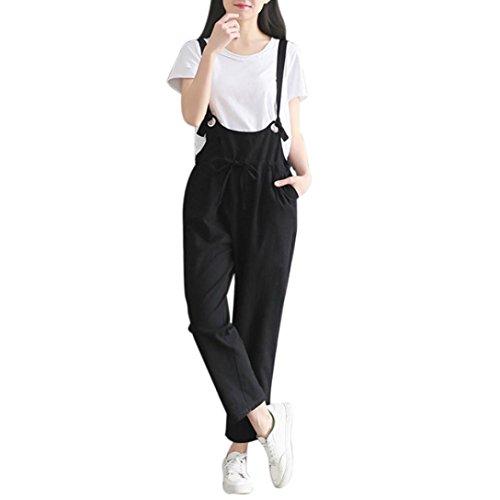 3e7ddef55 QinMM mujer tirantes sueltos pantalones pantalón  Amazon.es  Deportes y  aire libre