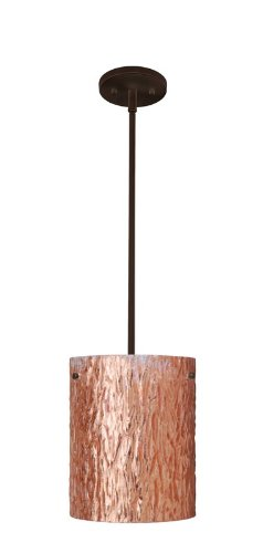 sh: Bronze, Height / Glass Shade: 9.875