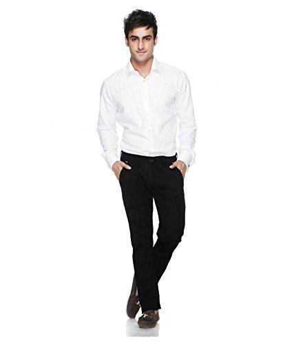 classic style of 2019 latest releases shop for original Formal White Shirt Black Pant Uniform Dress for Men and ...