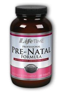 Lifetime Prenatal Multivitamins, 180 Count