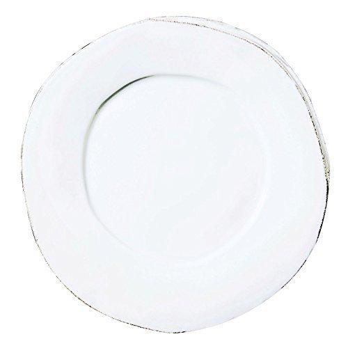 Vietri Lastra White Dinner Plate by Vietri-Irresistibly Italian