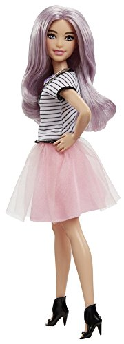 Barbie Fashionistas 54 Tutu Cool Pink Tulle Skirt Doll -