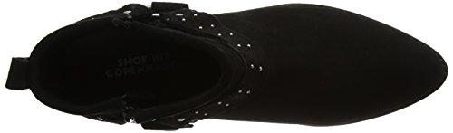 Suede Black Noir Fen Femme Bottes Biz Black Shoe Lycra TwXq4Yn