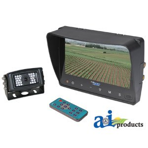 "CabCAM Video System; Touch Button (Includes 7"" Monitor and 1 Camera)"