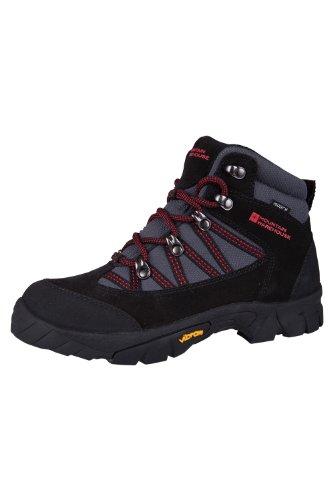Mountain Warehouse Edinburgh Vibram Kinder Wasserdicht Wander Stiefel Schuhe Freizeit Sport outdoor Kohle 37