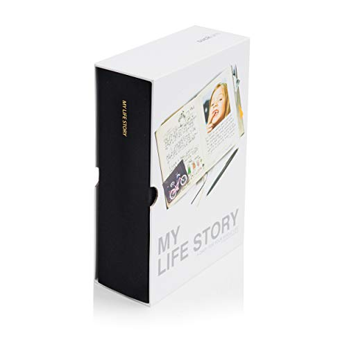 SUCK UK SK MYLIFESTORY1 My Life Story Diary  - Black
