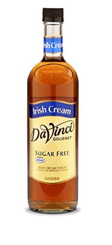 DaVinci Gourmet Sugar Free Syrup For Coffee, Irish Cream, 25.4 Ounce