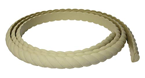 "Flexible Moulding - Flexible Rope Moulding - DE910-5/8"" X 1-1/2"" - 8"