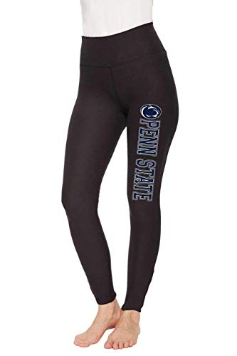 Concept Sport Penn State Nittany Lions Womens NCAA Team Logo Leggings - Black, Womens Extra -