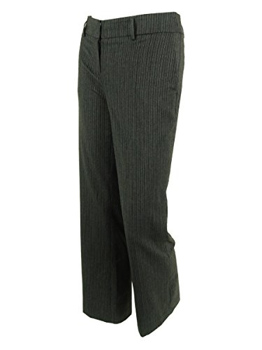 Jones New York Women's Pinstripe Zoe Dress Pants (4P, Cha...