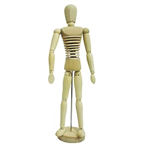 wooden mannequin figure drawing aid amazoncouk