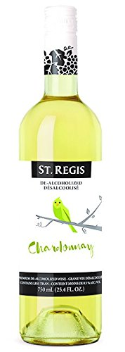 - St. Regis Chardonnay Non-Alcoholic Wine (Pack of 2)