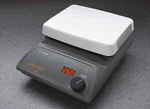 Corning 6795-400D PC-400D Hot Plate, Digital Display, 5'' x 7'' Pyroceram Top, 7.75 x 4.25 x 11'' (L x W x H), 5 to 550 Degrees C, 120V/60Hz by Corning