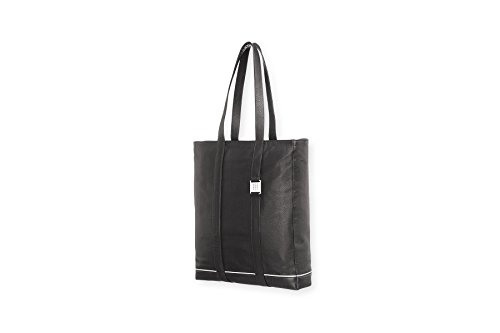 - Moleskine Lineage Tote Bag, Genuine Leather, Black, Classic Shoulder Bag for Everyday Use, Can Fit Tablet Laptop Organizer