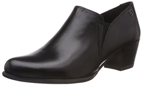 Schwarz Damen Black 003 Stiefeletten 24400 Leather Tamaris qB8p41ww