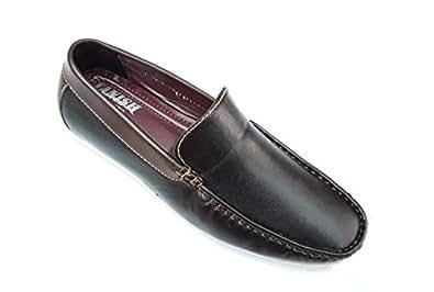 VANISH Black Loafers & Moccasian For Men
