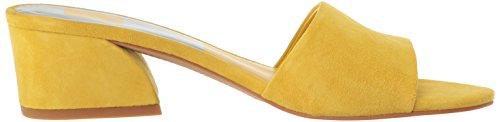 Dolce Vita Frauen Rilee Slide Sandale Gelbes Wildleder