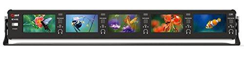 Mini Small 2.8'' Multi channel Monitor 5ea(1set) Desktop Rackmount LCD 3G HD SDI by Eve