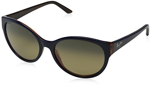 Maui Jim Venus Pools Polarized Sunglasses - Women's Blue with Rootbeer / HCL Bronze One - Venus Pool
