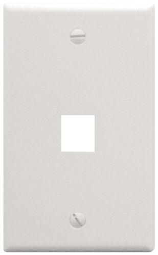 (ICC ICC-FACE-1-WH IC107F01WH - 1Port Face White)