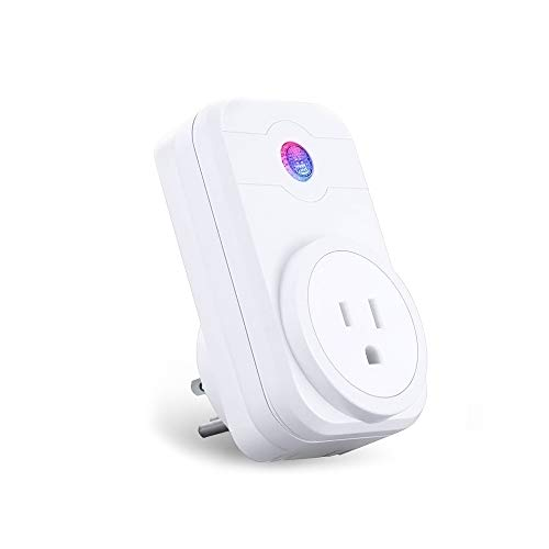 Smart Plug Wifi Outlet Compatible with Amazon Alexa Google Assistant Remote  Control from Anywhere Timing Function Energy Saving Plug No Hub Required