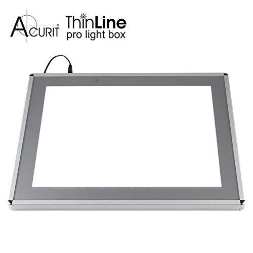 Acurit Thin Line Professional Adjustable Brightness LED Light Box & Tracing Tablet - 17 x 24