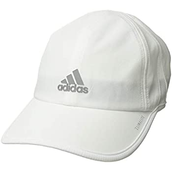 830d7260 adidas Women's Superlite Relaxed Adjustable Performance Cap, White/Light  Onix, One Size