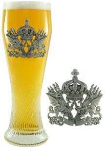 05-liter-pilsner-glass-with-dragon-pewter-badge