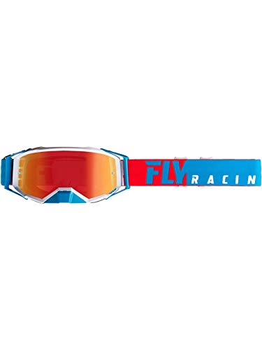 Fly Racing 2019 Zone Pro Goggles (RED/WHITE)