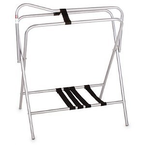 Folding Saddle Stand- Black by Apple Picker