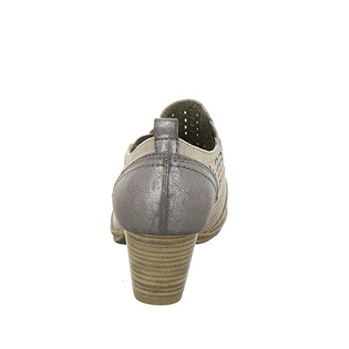 Damen Hochfront Pumps 36 37 38 39 40 41 taupe grau Softline Pumps 8-24367-347 Beige