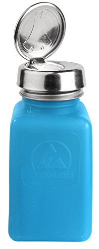Bottle, One-Touch Pump, 6 oz, Blue (Pump Menda Touch One)