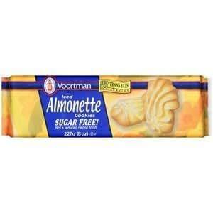 Voortman Iced Almonette Sugar-Free Cookies 8 oz.