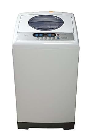 midea mae50 1102ps 1 6 cu ft top loading portable washing machine white appliances. Black Bedroom Furniture Sets. Home Design Ideas