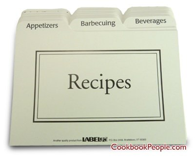 recipe cards and box set - 8