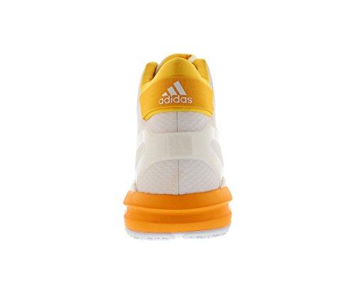 Adidas Sm Futurestar Coup De Pouce De Basket-ball Hommes Chaussures Blanc / Or