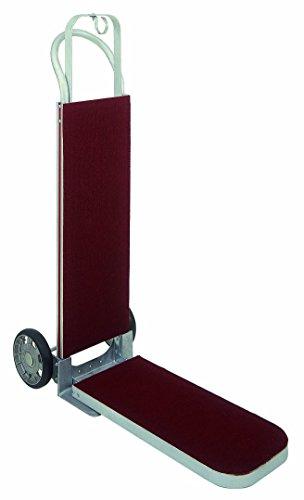 Magliner-HVK11AA13-2-Wheel-Luggage-Hand-Truck-U-Loop-Handle-Mold-On-Rubber-Wheels-Carpeted-Frame-500-lb-Capacity