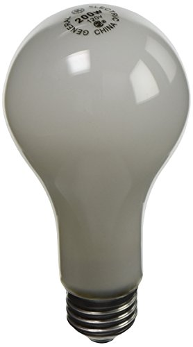 GE Lighting 11585 200-Watt A21, Soft White (Pack of 6)