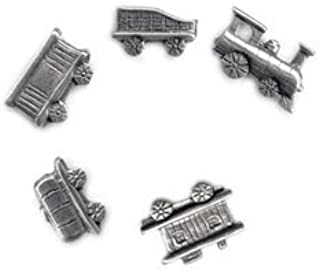 product image for Jim Clift Design Trains Pushpins