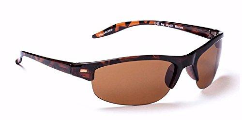 One by Optic Nerve Alpine Sunglasses, Dark - Sun Nerve Glasses Optic