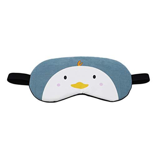 LZIYAN Cartoon Sleep Eye Mask Cute Animal Pattern Eye Mask Blindfold Eye Patch Sleeping Eyeshade Travel Shade Cover,Chick by LZIYAN (Image #1)
