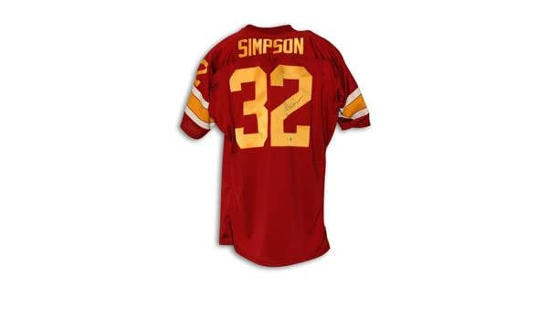 6d5097adf93 OJ Simpson Signed USC Trojans Jersey at Amazon's Sports Collectibles Store