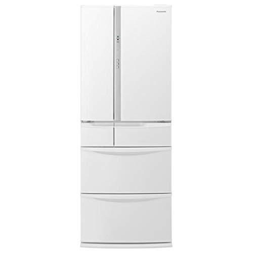 パナソニック 451L 6ドア冷蔵庫(ハーモニーホワイト)Panasonic NR-FV45S5-W   B07Q814HMS