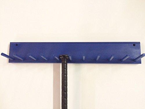baseball bat rack display holder