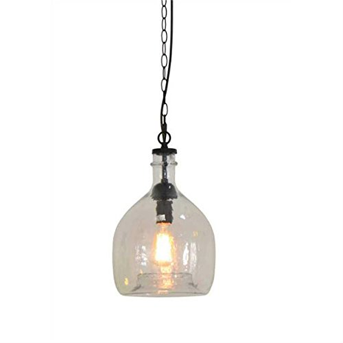 Oversized Glass Pendant Light