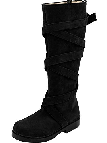 GOTEDDY Women's Halloween Cosplay Shoes Party Boots Costume